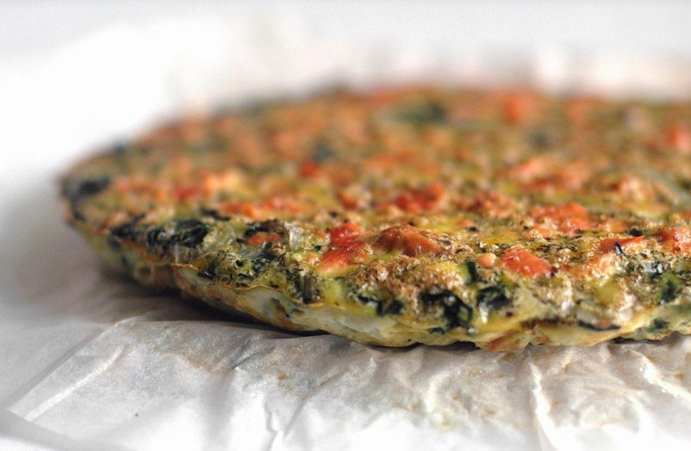 salmon frittata gluten dairy free
