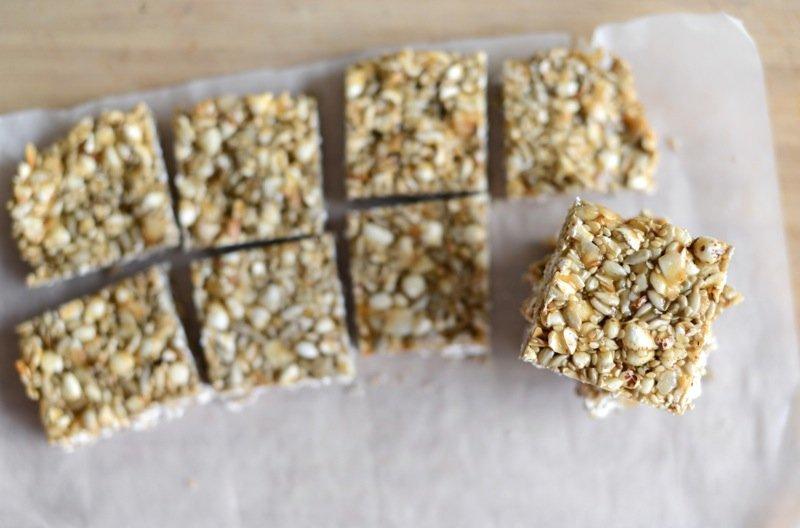 tahini honey bars dairy nut gluten free