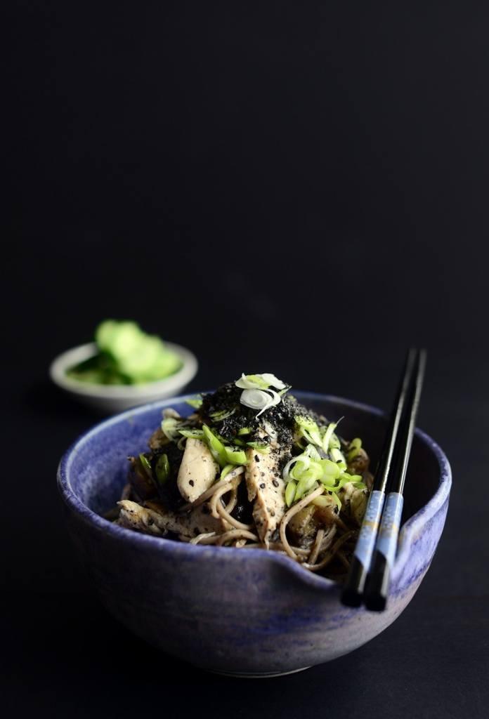 chicken soba salad gluten dairy free low gi protein