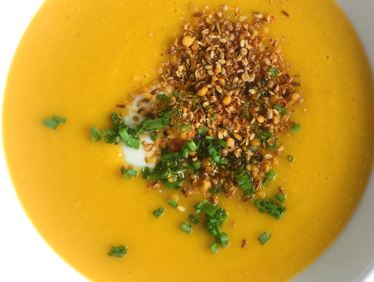 Pumpkin lentil soup gluten free