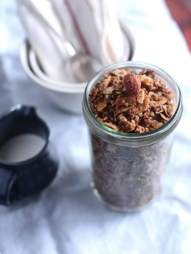 gluten free buckwheat granola
