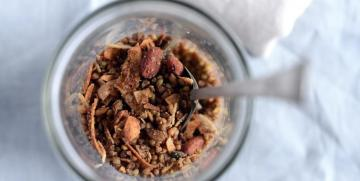Recipe: Maple Buckwheat Granola